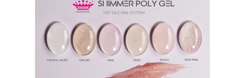 Shimmer Poly gel