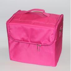 Чемодан тканевой маленький Розовый