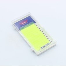 Ресницы 0.10C 10 мм Yellow