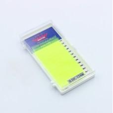Ресницы 0.10C 12 мм Yellow