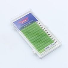 Ресницы 0.10C 10 мм Green