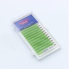 Ресницы 0.10C 8 мм Green