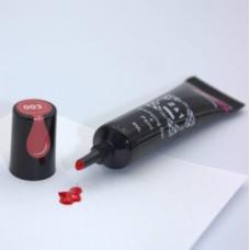 Гель краска для стемпинга и рисования 2в1 красная