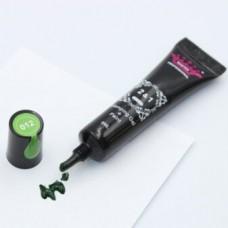 Гель краска для стемпинга и рисования 2в1 зелёная
