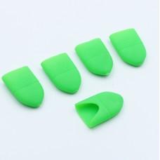 Колпачки силиконовые 10в1 Зеленые