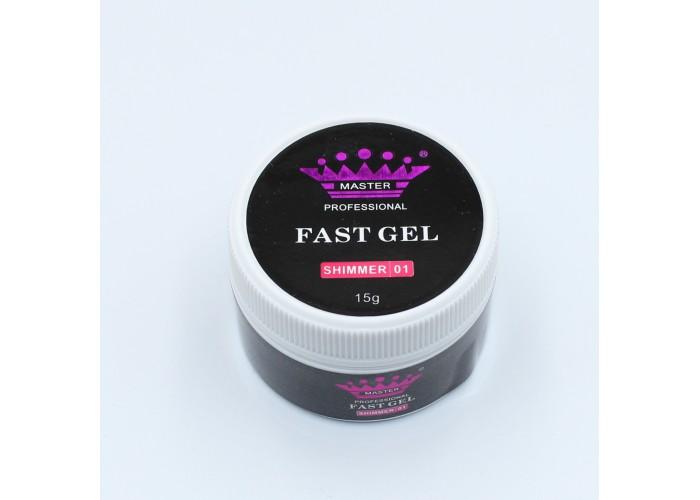 Fast Gel Shimmer 15 г №01
